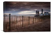 Swansea Marina Towers observatory, Canvas Print