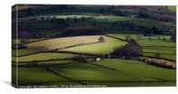 Green green grass of Wales, Canvas Print