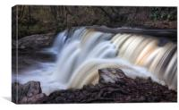The diving board at Sgwd y Pannwr Waterfall, Canvas Print