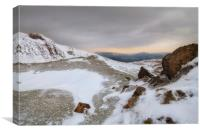 The rugged beauty of the Brecon Beacons, Canvas Print