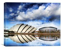 Glasgow SECC, Canvas Print