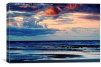 Storm Clouds Rolling In , Canvas Print