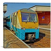 Arriva Train 175107, Canvas Print
