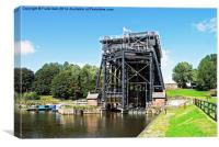 The Anderton Boat Lift, Canvas Print