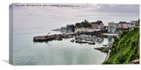 Tenby Harbour, Wales, UK, Canvas Print