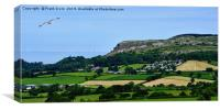 A lovely Welsh landscape, Canvas Print
