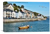 Aberdovey, North Wales, Canvas Print
