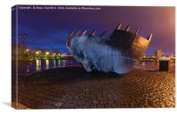 Merchant seafarer's war memorial 1, Canvas Print