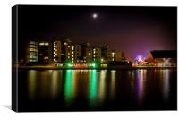 Colours of the Night, Canvas Print