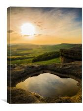 Stanage , Canvas Print