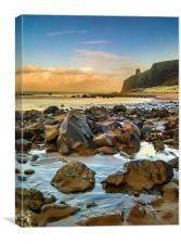 Downhill Beach, Colraine, Northern Ireland., Canvas Print