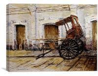 Vigan Carriage 1, Canvas Print
