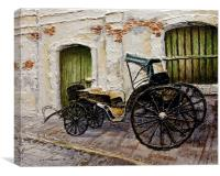 Vigan Carriage 2, Canvas Print