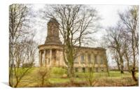 Saltaire United Reformed Church, Canvas Print