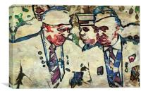Old Soldiers, Canvas Print