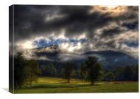 Living In The Clouds of Western North Carolina, Canvas Print