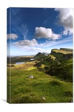 The Quirang, Isle of Skye, Canvas Print