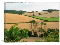 Chiltern View from A41 Bypass, Canvas Print
