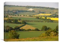 Ivinghoe View to Whipsnade, Canvas Print