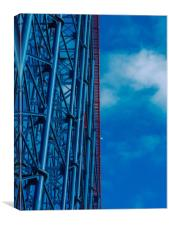 Rollercoaster   , Canvas Print