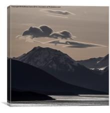 Floating Clouds, Canvas Print
