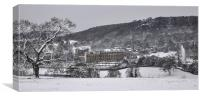 Chatsworth in winter, Canvas Print