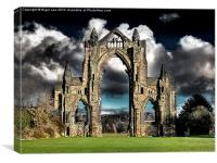 Ghostly Priory, Canvas Print