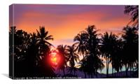 Phuket sunset, Canvas Print