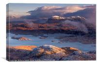Suilven from Stac Pollaidh., Canvas Print