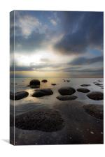 Evening Seascape at Old Hunstanton, Canvas Print