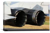 The business end of a Slovakian MiG 29 UBS, Canvas Print