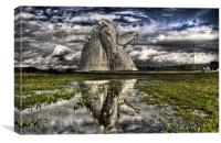 The Water Kelpies, Canvas Print