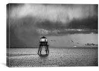 Storm on Final Approach to Harwich, Canvas Print