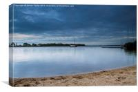 Hickling Broad, Canvas Print