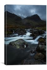 Deepdale Beck, Canvas Print
