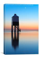 Burnham-On-Sea lighthouse, Canvas Print