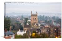 Great Malvern Priory, Canvas Print