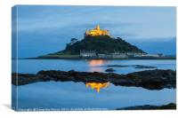 St. Michael's mount, Cornwall, Canvas Print
