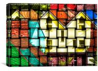 Abstract Architecture, Canvas Print