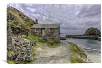 Mullion Cove Cornwall, Canvas Print