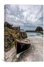 Mullion Cove and Harbour 2, Canvas Print