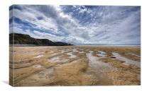 Sandymouth Cornwall, Canvas Print