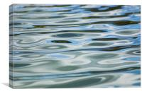Water Abstract, Canvas Print