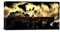 The Angel of the North, Canvas Print