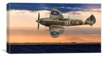Supermarine Spitfire, Canvas Print