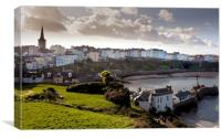 View of Tenby, Canvas Print