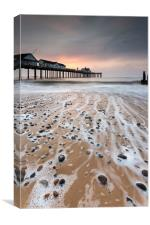 Southwold Dawn, Canvas Print