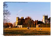 Coughton Court Estate., Canvas Print