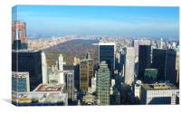Top Of The Rock!, Canvas Print