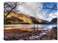 Lake Buttermere, Canvas Print